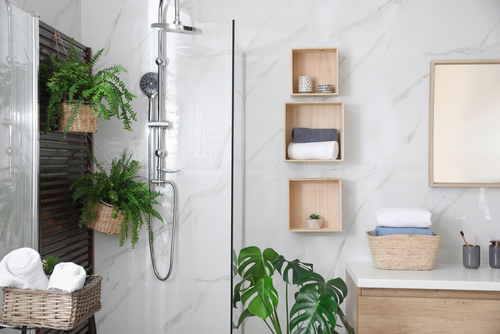 How do I remodel my small master bathroom