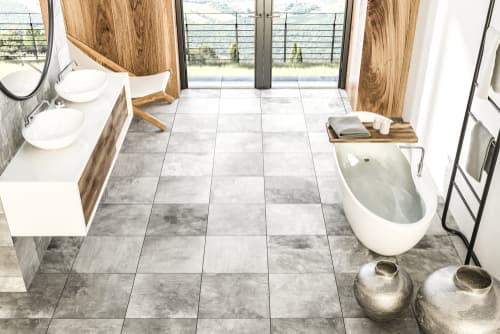 Who do I hire for a stylish bathroom remodel in Edmond, OK