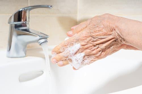 Buy an anti-scald faucet
