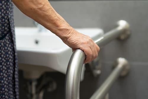 How do you design a bathroom for aging